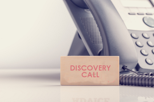 Discovery Call Icon