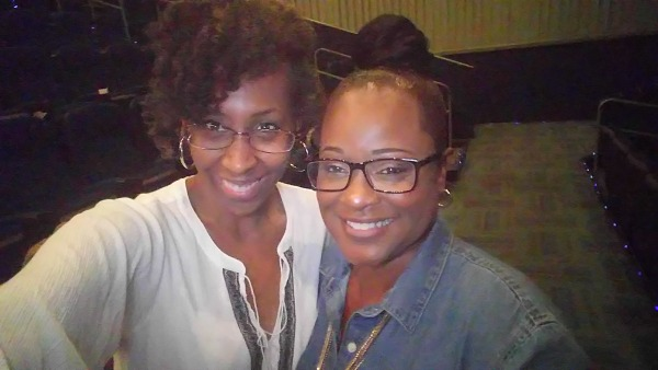 NJ and Toni R at A Question of Faith Screening